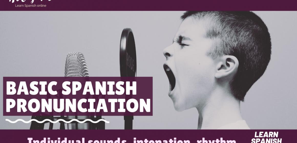 basic spanish pronunciation